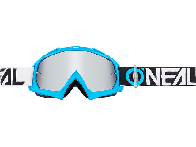 ONeal B-10 Goggle TWOFACE blue/black-mirror silver